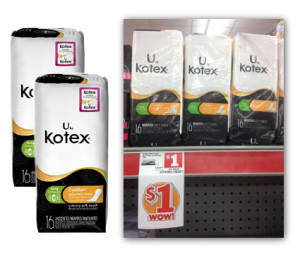 FREE U by Kotex Liners at Family Dollar!