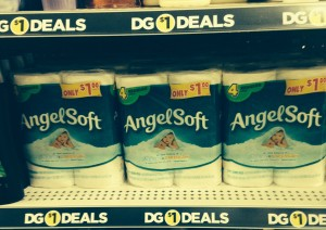 Dollar General:: Angel Soft Toilet Paper 55¢
