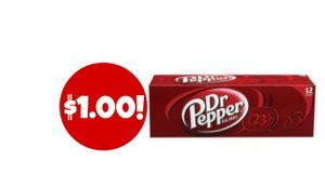 Dr. Pepper 12-Packs $1.00 Each at Dollar General!