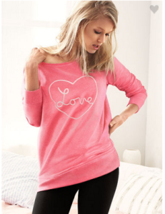 Heart Fleece Tunic & Legging Set $44 ($79 Value)!
