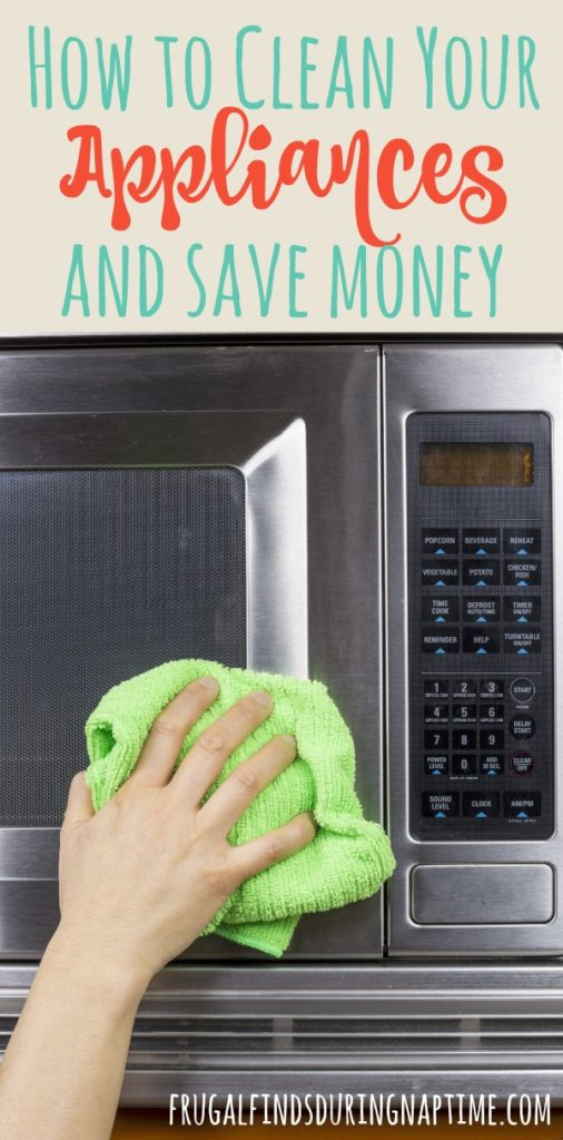 Clean appliances work so much better than old dirty, dingy ones full of build up. Cleaning them yourself can save you quite a bit of money in the long run. See how.