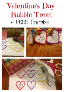 Valentine's Day Bubble Treat + FREE Printable
