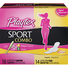 playtex sport combo pack 1