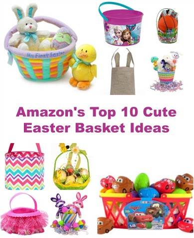 Looking for some Easter Basket Ideas? Look no further than this post! Here are the top 10 cute Easter Basket Ideas! #Easter