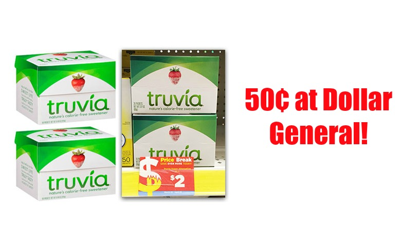 truvia at dg