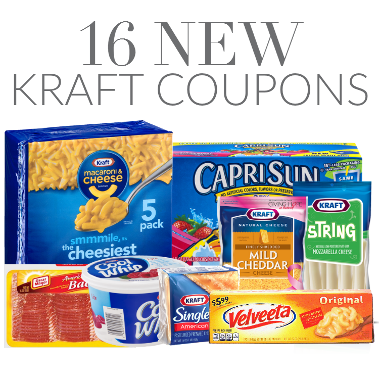 photograph relating to Kraft Coupons Printable titled Finishing Quickly* 16 Refreshing Kraft Printable Coupon codes! Print At the moment