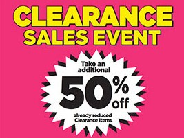 Dollar General 50% off Clearance Sales Event is TODAY!! 4-2