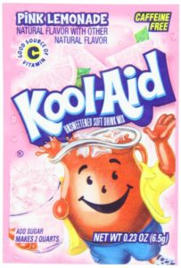 Pink Lemonade Kool Aid 18¢ Each! Stock Up for Summer!