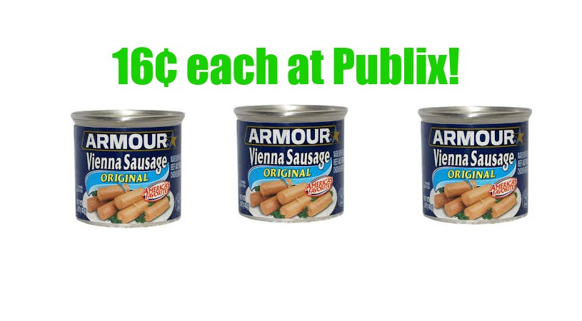 vienna sausages at publix
