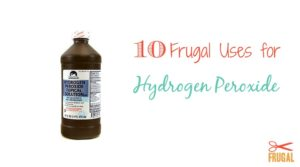 10 Frugal Uses for Hydrogen Peroxide