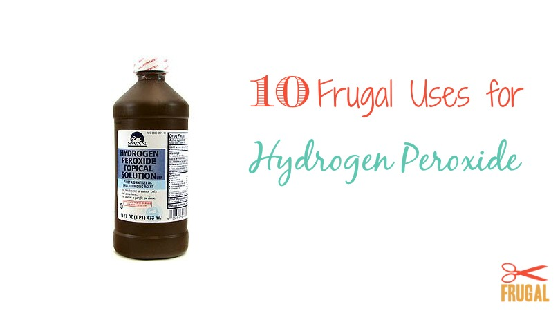Did you know that Hydrogen Peroxide can be used on more than just disinfecting cuts? Check out these uses for Hydrogen Peroxide.