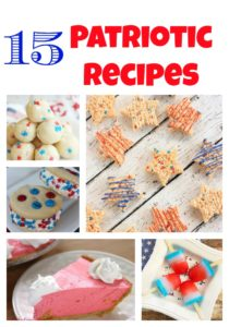 15 Patriotic Recipes (for Memorial Day or 4th of July)