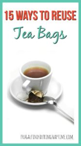 Tea drinkers, don't throw those tea bags away! Did you know you can reuse tea bags to save money? Check out these 15 ways to reuse them.