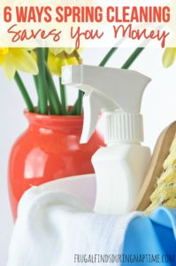 6 Ways Spring Cleaning Saves You Money
