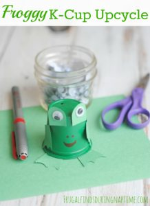 Froggy K-Cup Upcycle Craft