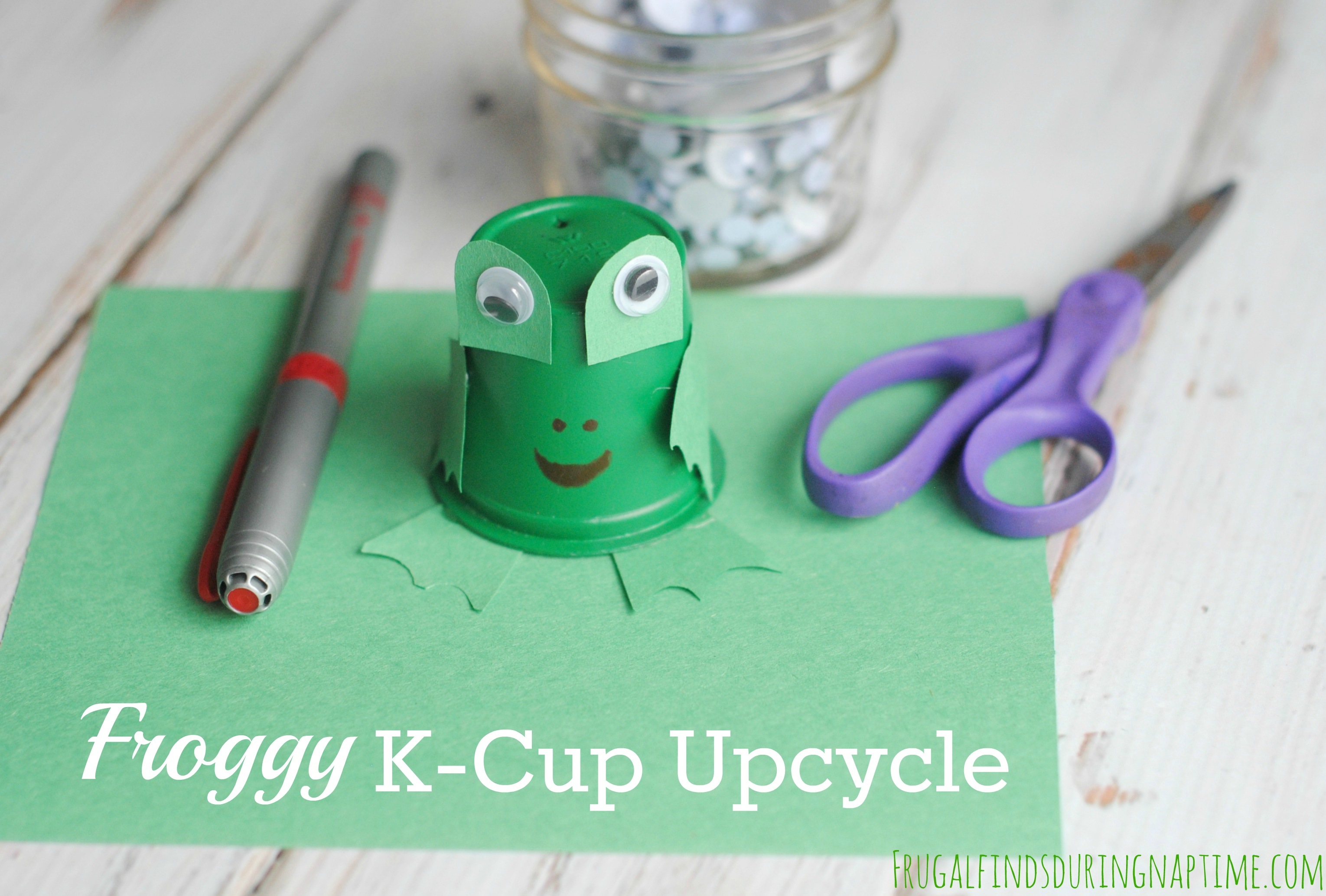 Froggy K-Cup Upcycle