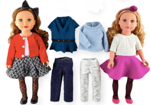 Journey Girls 2-Doll Gift Set + 4 Outfits & Accessories ONLY $29.99 SHIPPED!