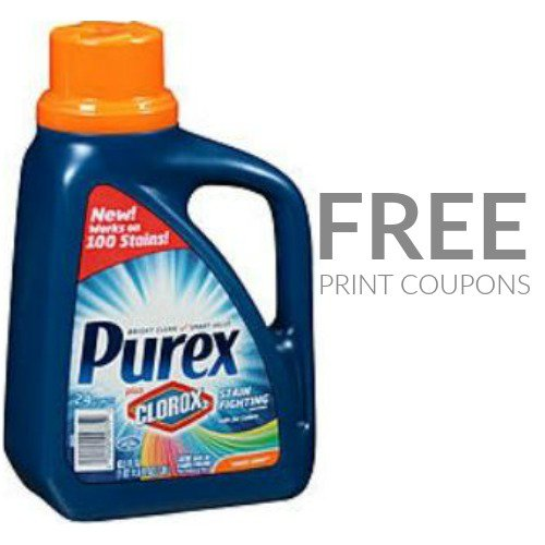 Free Purex Plus Clorox 2 At Rite Aid Print Now Frugal Finds During Naptime