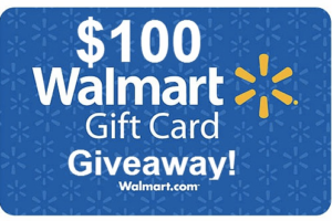 Enter to Win 1 of 750 $100.00 Walmart Gift Cards!