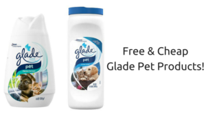 FREE & Cheap Glade Pet Products at Walmart! NO Coupons Required!
