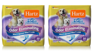 Hartz Home Protection Odor Eliminating Dog Pads (50-pack) $9.18 SHIPPED!
