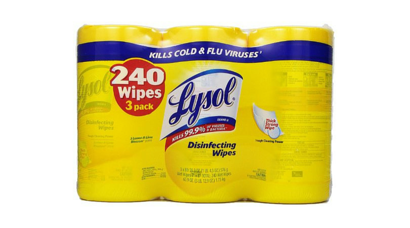 lysol wipes picture