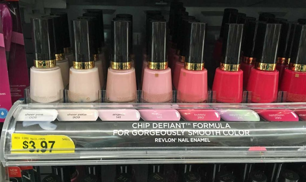 Walmart:: Revlon Nail Polish $0.97 - Frugal Finds During Naptime