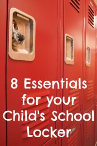 8 Essentials for Your Child's Locker