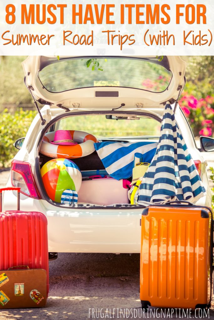 Sometimes it can be hard to keep the kiddos entertained while driving to your vacation destination. Check out these must have items to both save some money and your sanity on summer road trips.