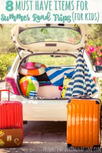 8 Must Have Items for Summer Road Trips (with kids)