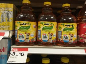 Better Than FREE Mott's Apple Juice!
