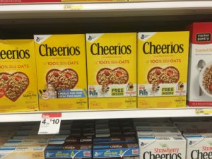 Cheerios ONLY $1.75 Per Box + FREE Secret Life of Pets Toys at Target!