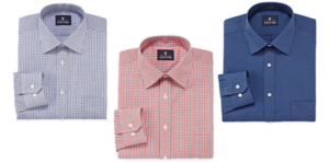 JCPenney: Stafford Men's Long-Sleeved Dress Shirts Only $7.65