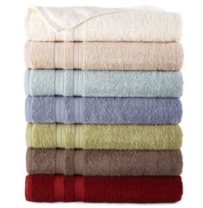 JCPenney: Home Expressions Bath Towels Only $2.55 Each!