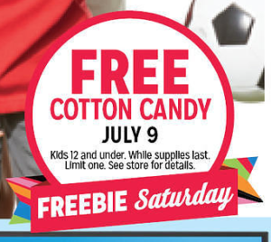 Kmart:: FREE Cotton Candy on 7/9