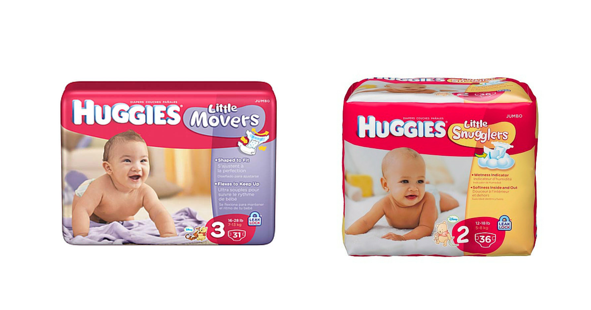 **SUPER HOT** Huggies Diapers ONLY $3.00 Per Pack (After Rebates)! Stock Up!