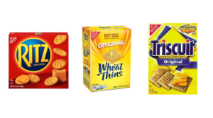 Ritz Crackers $0.08 per Box + Money Maker on Wheat Thins & Triscuits at Target!