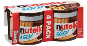 Nutella & GO! 4-Pack $3.98!  *Back to School Snacks*