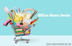 Office Depot/Office Max & Staples Back to School Deals 7/16-7/22
