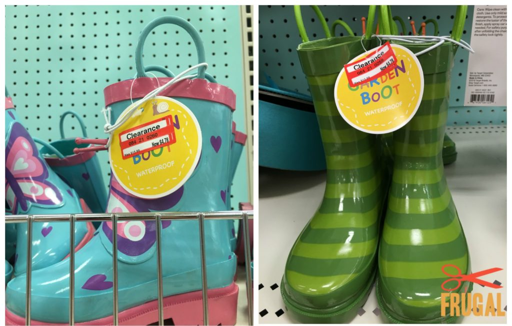 Target PatioOutdoor Clearance Finds Frugal Finds During  : rain boots clearance 1024x653 from frugalfindsduringnaptime.com size 1024 x 653 jpeg 103kB