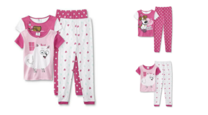 Girls' Secret Life of Pets 2-Piece Pajama Set $14.28 (reg. $42)!