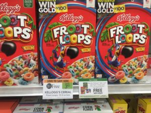 *HOT! HOT! HOT!* Kellogg's Froot Loops $0.29 + FREE Pop-Tarts at Publix!!