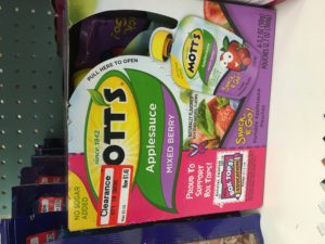 Mott's Mixed Berry Applesauce Pouches 4-pack ONLY $1.31 at Target! NO Coupons Needed!