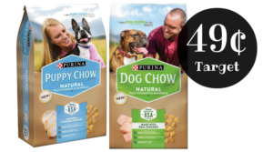 Purina Dog or Puppy Chow ONLY $0.49! Stock Up!