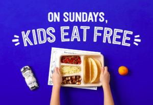 *Mark Your Calendars!* Free Kids Meal On Sundays @ Chipotle in September!!