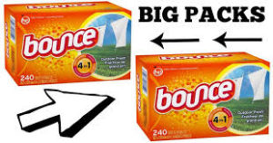 BIG Packs of Bounce Dryer Sheets ONLY $4.56 at Target! Stock Up!