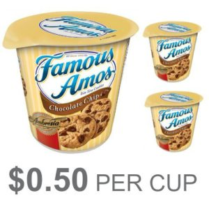 Famous Amos Bite Size Cookies ONLY $0.50!