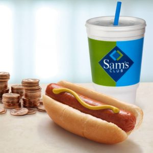 *CHEAP LUNCH IDEA* Nathan's Famous Hot Dog AND Drink ONLY $1.00 at Sam's Club!