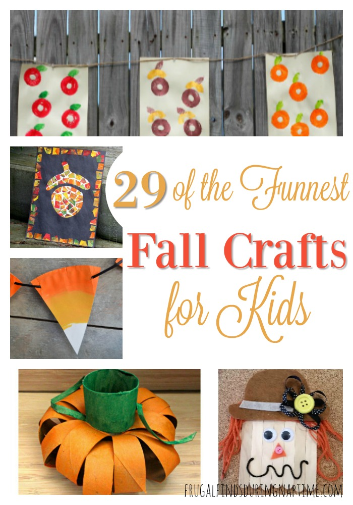 Get crafting this fall with 29 of the funnest crafts for the kiddos!