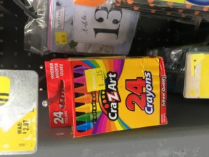 *Clearance Find* Cra-Z-Art Crayons ONLY $0.25 at Walmart!